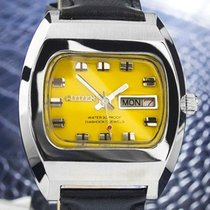 Citizen Automatic Vintage Mens Japanese Stainless Steel...