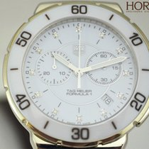 TAG Heuer Ladies FORMULA 1 white ceramic diamonds CAH1211.BA08...