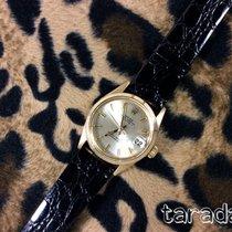 Rolex date mid  31mm size 18k gold ref. 6624