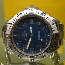 Breitling vintage 1995 diver ref 13300 auto 300 meters steel...