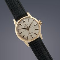 Omega Ladies Geneve Ladymatic 18ct gold automatic