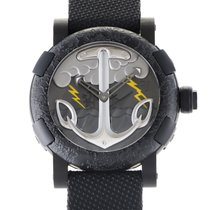 Romain Jerome TATTOO BLACK YELLOW Mens Automatic Watch...