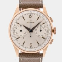 Zenith Vintage Jumbo Chrono Cal.156D / 38 mm / Pink Gold / 1955