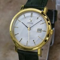 Omega Ladies Swiss Made 28mm Gold Plated Automatic 1960s Dress...