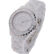 Chanel J12 GMT 38mm White Ceramic H3443
