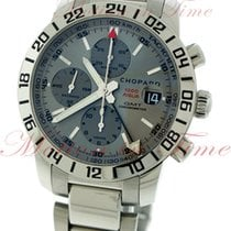 Chopard Mille Miglia GMT Chronograph, Silver Dial - Stainless...