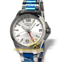 Longines Conquest - Automatic 41mm GMT L36874766