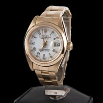 Rolex datejust oyster yellow gold lady