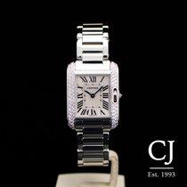 Cartier WT100008 Cartier Tank Anglaise White Gold Ladies Diamond