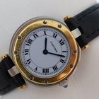 Cartier Santos Ronde Quarz - Stahl-Gold