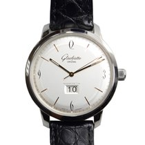 Glashütte Original New  Senator Sixties Panorama Date Stainles...