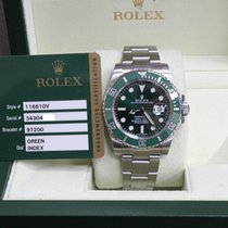 勞力士 (Rolex) Submariner 116610V Green Ceramic Hulk Stainless...