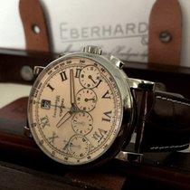Eberhard & Co. Chrono4 Bellissimo Steel Beige Dial...