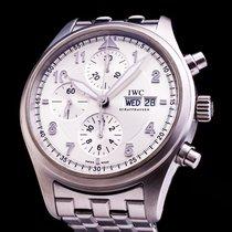 IWC Spitfire Fliegeruhr Chronograph Day Date Full Set 42mm