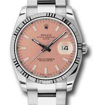Rolex 11534 Oyster Perpetual Date 34mm/18KWhite Gold Ladie&#39...