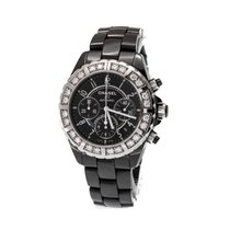 Chanel J12 Diamond Ceramic Chronograph