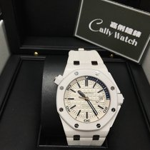 Audemars Piguet Cally - Used 15707CB.OO.A010CA.01 Diver White...