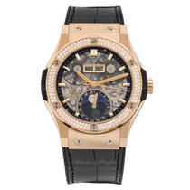Hublot Classic Fusion Moonphase King Gold Diamonds 42 mm