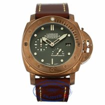Panerai Luminor Submersible 1950 Bronzo Power Reserve Green