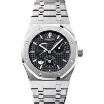 Audemars Piguet Royal Oak Dual Time Power Reserve  Steel Watch