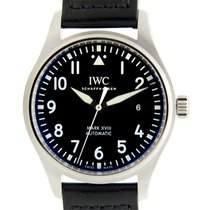 IWC Pilots Stainless Steel Black Automatic IW327001