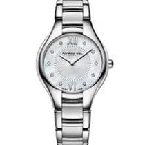 Raymond Weil Noemia Mother of Pearl Diamond Dial Stainless...