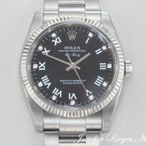 Rolex AIR KING 114234 STAHL WEISSGOLD 750 DIAMANTEN  AirKing