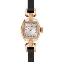 Bulova Womens Classic Strap Watch - Silver/White Dial -...