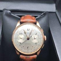Chronographe Suisse Cie Antimagnetic Rosegold Handaufzug 750 /...