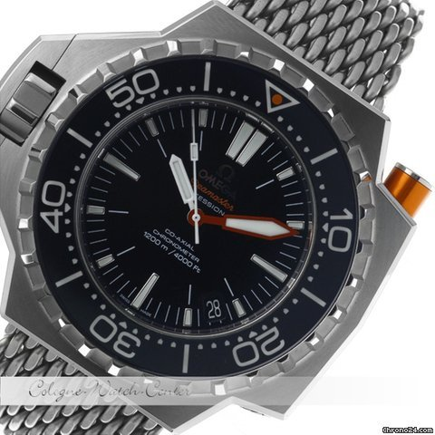 Omega Seamaster Ploprof Stahl 22430552101001