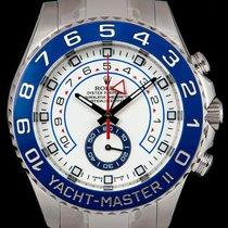 Rolex S/S Unworn O/P Yacht-Master II B&P 116680