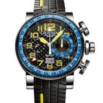 Graham Silverstone Stowe GMT Blue & Yellow NEU B+P