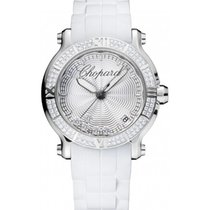 Chopard Happy Sport 36mm Steel Diamonds