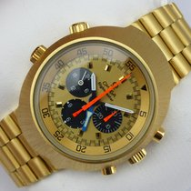 Omega Flightmaster Chronograph - Gold 750 - Goldband