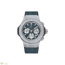 Hublot Big Bang Evolution Blue Jeans Chronograph Stainless...
