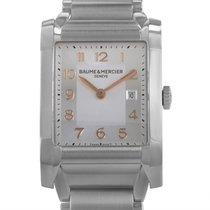 Baume & Mercier Hampton Mens Stainless Steel Quartz Watch...