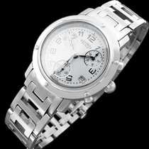 Hermès Mens Midsize / Ladies Clipper Chronograph Quartz Watch...