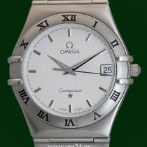 Omega Constellation Date 34mm Stainless Steel