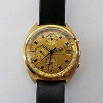Heuer Chronograph 18K Gold