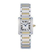 Cartier Tank Francaise Quartz Ladies Watch Ref W51007Q4