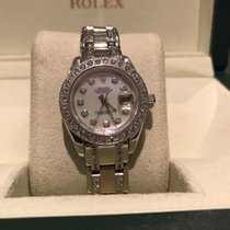 Rolex Pearlmaster 29 69299 18ct white gold afterset as 80299...