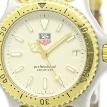 TAG Heuer Sel Professional 200m Gold Plated Steel Midsize...