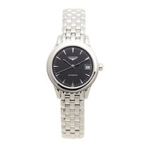 Longines Flagship Stainless Steel Black Automatic L4.274.4.52.6
