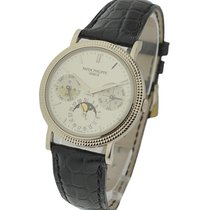 Patek Philippe 5039G 5039 Perpetual Calendar with Hobnail Case...