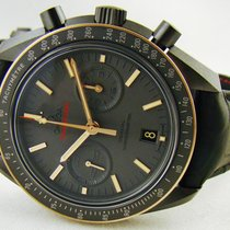 Omega Speedmaster Dark Side of the Moon Gold Sedna Black