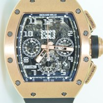 Richard Mille RM011 Latest model,full rose gold case,boutique...