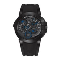 Harry Winston [NEW] Ocean Dual Time Black Edition automatic...
