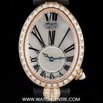 Breguet 18k R/G Unworn Diamond Reine de Naples 8928BR/51/844/DD0D