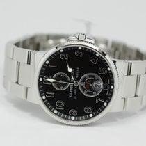 Ulysse Nardin Marine Chronometer 41mm Black Dial Numerals...
