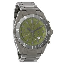 Bulova Marine Star Olive Green Dial Chronograph Quartz Watch...